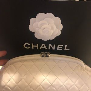 Authentic Chanel timeless clutch